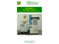 CEB - Model EW 80 - High Pressure Washing Machine for Open Top Wheeled Containers  Brochure