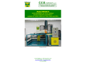 CEB - Model EW100 - High Pressure Washing Machine for Open Top Wheeled Containers Brochure