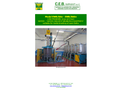 CEB - Model EWEB/B - High Pressure Washing Machine for Open Top Wheeled Containers Brochure