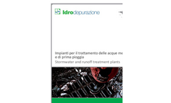 Idrodepurazione - Rain Water Reuse and Recovery Plant Brochure