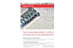 Thermo Scientific Pharma 24 - Model TSG - Twin-Screw Granulator - Brochure
