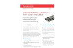 Thermo Scientific Pharma 24 - Model TSG - Twin-Screw Granulator - Technical Specifications