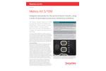 Metrios AX S/TEM Datasheet