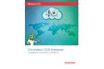 Brochure: Chromeleon CDS Enterprise – Compliance, Connectivity, Confidence