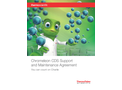 Brochure: Chromeleon CDS Support and Maintenance Agreement – You Can Count on Charlie