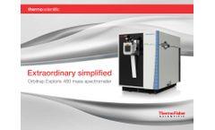 Orbitrap Exploris - Model 480 - Mass Spectrometer - Brochure
