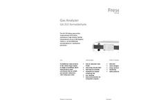 Formaldehyde - Model GA 315 - Gas Analyzer Brochure