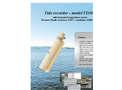 SAIV - Model TD304 - Tide Recorder Brochure