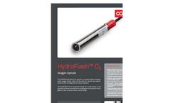 HydroFlash - Model O2 - Versatile Shallow and Deepwater Oxygen Sensor  Brochure