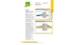GGU-2D-Transient - Geohydraulic Analysis Software - Datasheet
