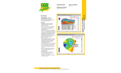 GGU-3D-SSFLOW - Geohydraulic Analysis Software - Datasheet