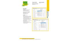 GGU-Density - Laboratory Analysis Software - Datasheet