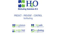 H2O - Model BFS - Biofouling Control Products