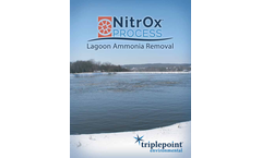 Triplepoint NitrOx - Cold Weather Lagoon Ammonia Removal System - Brochure