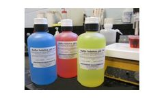 Model pH Buffers 4,7 and 10 - Process Chemicals