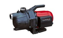 Leader - Manual Rainwater Pumps & Control Systems