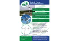 ACE - Windmill Pumps - Brochure