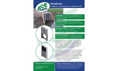 ACE - Model 100MM - HDPE Penstocks - Brochure