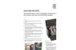 EiUK Rasi - Model 800 - Portable Combustion/Emissions Analyser  Brochure