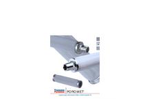 Poromet Cleanable Stainless Steel Filter Brochure