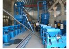 Xinda - Model TR - Waste Tire Recycling Plant