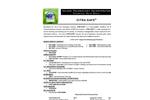 Citra-Safe Tech Sheet
