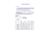 DeTech - Model RSP Series - Recirculating pump - Brochure