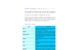 DeTech - Model GQ Series - Dirty Water Pump - Leaflet