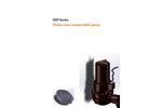 DeTech - Model SSP Series - Centrifugal Screw Impeller Sewage Pump - Brochure
