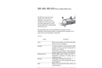 DeTech - Model MS 400 and MS 650 - Submersible Mixer - Brochure