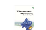 DeTech - Model WS Series - Split Case Pump - Brochure