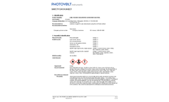 Karl Fischer Coulometric Generator Solution (27910003) - Safety Data Sheet