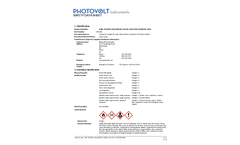 Karl Fischer Coulometric Vessel Solution, Pyridine-free (0891002) - Safety Data Sheet