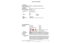 KARL FISCHER WATER STANDARD, 5.0 mg/g (2712805) - Safety Data Sheet