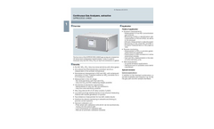 SIPROCESS UV600 Continuous Gas Analyzers, Extractive - Catalog