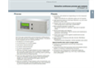 Siemens Ultramat - Model 23 - Multi-component Gas Analyzer - Brochure