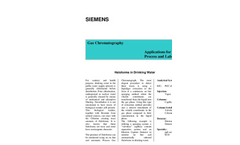 Haloforms in Drinking Water - Application Note