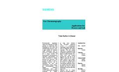 Total Sulfur in Diesel - Application Note