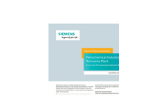 Petrochemical Industry Ammonia Plant - Application Note