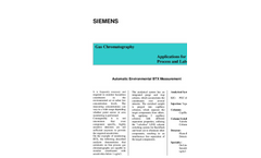 Automatic Environmental BTX Measurement - Application Note