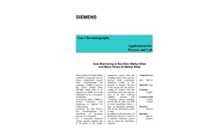 Area Monitoring of Bis Chlor Methyl Ether and Mono Chloro Di Methyl Ether - Application Note