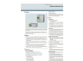 Siemens Calomat - Model 6 - Continuous Gas Analyzer for Hydrogen and Noble Gas - Brochure