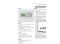 Siemens Fidamat - Model 6 - Continuous Gas Analyzers with Flame Ionization Detector (FID) - Brochure