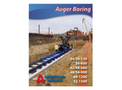 Auger Boring Machines - Brochure
