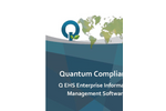 Quantum Compliance Q EHS Enterprise Information Management Software