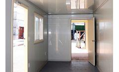 Model 40GP - Ground Level Office & Storage Combo