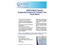 Model MXD73 - Panel Mount Multi Channel Transmitter Brochure