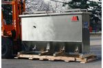 Model 50 gpm - 100 gpm (10 - 25 m3/h) - Above Ground Oil Water Separators
