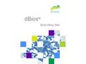 dBiox - Biotrickling Filter System - Brochure