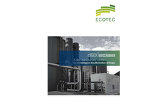 dBiox - Bioscrubber for Biological Desulfurization of Biogas - Brochure